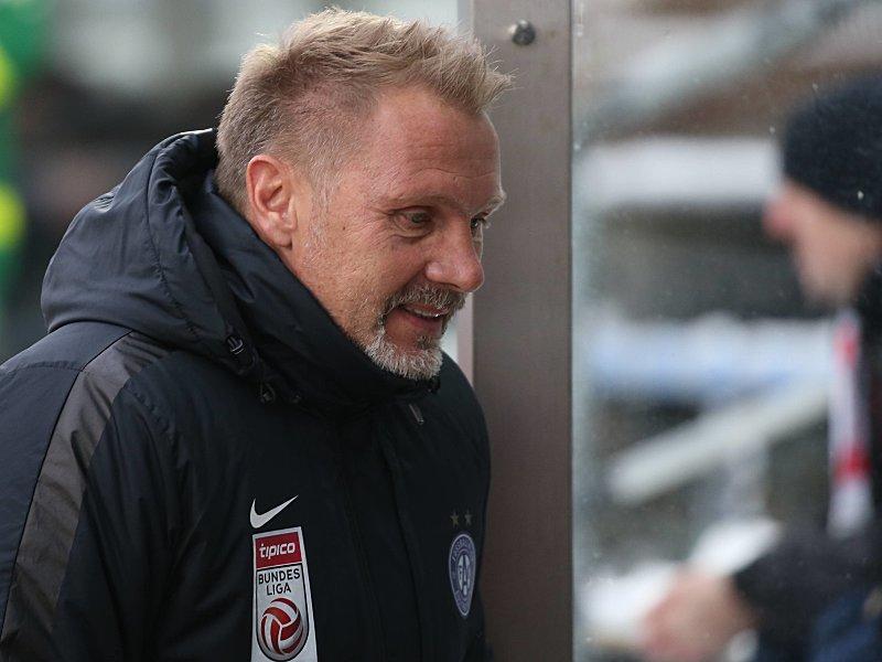 Thorsten Fink bei Austria Wien gefeuert