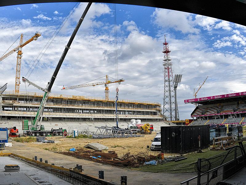 Austria weiht gegen den BVB das Stadion ein