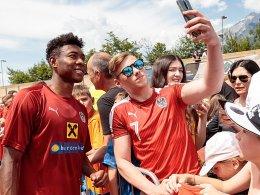 Alaba für Länderspiel gegen Russland fraglich