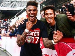 Lazaro schießt Salzburg zur Meisterschaft