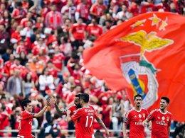 Benfica gl�ckt der Meister-Hattrick