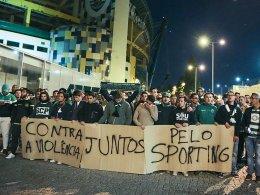 Maskierte greifen Sporting an - Dost am Kopf verletzt