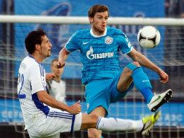 Kuranyi verlor mit Dynamo Moskau gegen Zenit mit 1:2, das damit die Meisterschaft feiert.