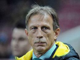 Nicht mehr Trainer in Bursa: Christoph Daum.