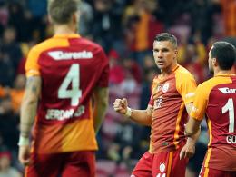 Dreierpack! Podolski schießt Galatasaray weiter