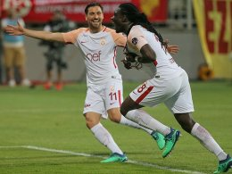 Galatasaray macht die Hausaufgabe und ist Meister