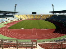Das Pankritio-Stadion auf Kreta