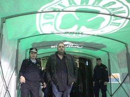 Unzufrieden mit seinen Spielern: Piräus' Präsident Evangelos Marinakis.