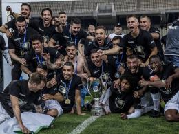 Nach Krawallen: PAOK gewinnt Pokalfinale gegen AEK