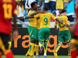 Sangweni belohnt ein verbessertes Südafrika