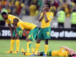 Südafrika gescheitert