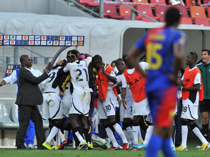 Ghana feiert in Port Elizabeth
