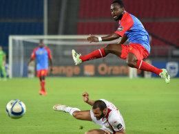 Die DR Kongo übersprang zwar die Hürde Tunesien nicht, doch beide Teams stehen im Viertelfinale.