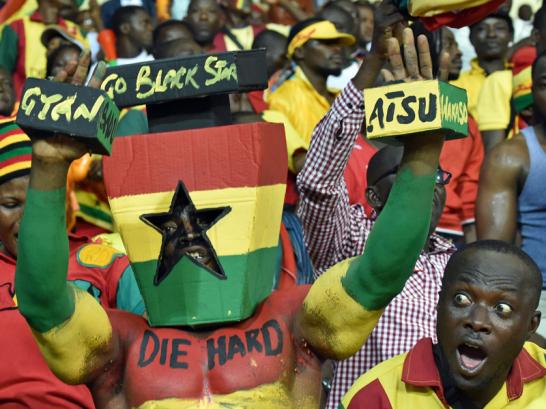 Ghana-Fans