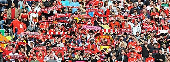 Fans des FC Liverpool