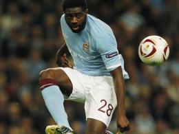 """Auf eine """"bestimmte Substanz"""" gestestet: Kolo Touré von Manchester City wurde über die positive A-Probe informiert."""