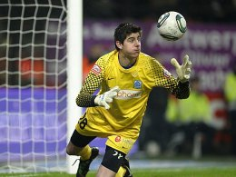 Keeper Thibaut Courtois