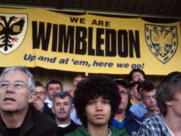 Fans des AFC Wimbeldon