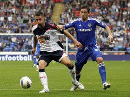 Gary Cahill und Frank Lampard
