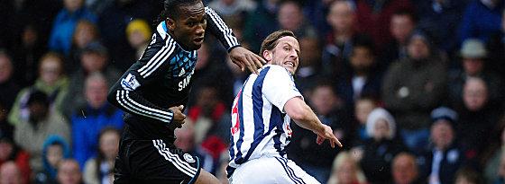 Bittere Pleite: Didier Drogba und der FC Chelsea verlor in West Bromwich.