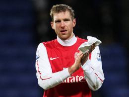 Sasion-Aus in der Premier League: Laut Arsene Wenger wird Per Mertesacker nicht mehr für den FC Arsenal zum Einsatz kommen.