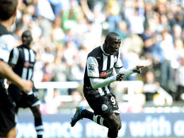 Auch die Premier-League-Abwehrreihen können ihn nicht aufhalten: Papiss Demba Cissé.