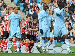 Sunderland jubelt in Manchester