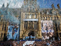 In Manchester feierte erstmals seit 1968 ManCity einen Meistertitel