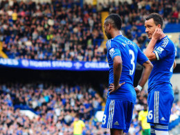 John Terry und Ashley Cole