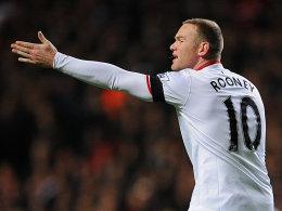 Fehlt gegen die Schweden: Englands Stürmer Wayne Rooney von Manchester United.