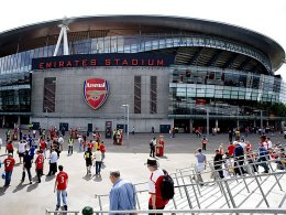 Das Emirates Stadium in London.