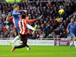 Fernando Torres trifft zum 1:0 für Chelsea