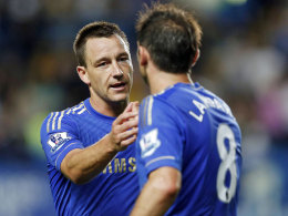 Lampard fliegt mit, Terry bleibt in London