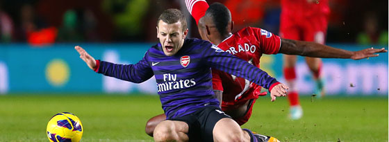 Jack Wilshere vs. Guly do Prado
