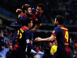 Jubel bei Barça, die Katalanen gewannen in Malaga und stehen im Halbfinale des Pokals.