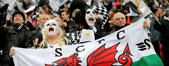 Swansea-Fans