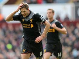 Vom Punkt erfolgreich: Liverpools Steven Gerrard.