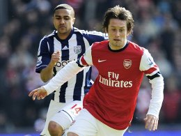 Doppelpack bei West Brom: Tomas Rosicky.