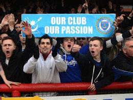 Fans des FC Portsmouth