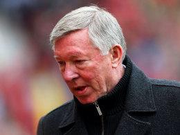 Kaum vorstellbar: ManUniteds Coach Sir Alex Ferguson geht in den Ruhestand.