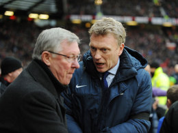 Sir Alex Ferguson mit David Moyes