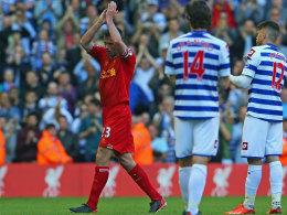 Abschied und Beifall vom Gegner: Jamie Carragher beendet seine Karriere beim FC Liverpool.
