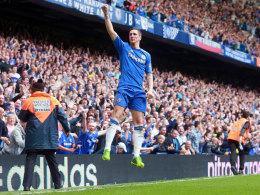Siegtreffer für Chelsea: Torres' 2:1 sicherte den Blues die direkte CL-Teilnahme.
