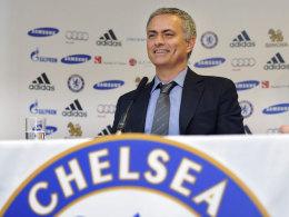 José Mourinho am Montag bei seiner Vorstellung beim FC Chelsea
