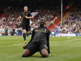 Yaya Touré jubelt bei Crystal Palace