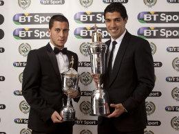 Luis Suarez und Eden Hazard
