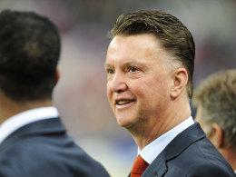 Bei der WM noch bei Oranje auf der Bank, danach würde er gerne ManUnited übernehmen: Louis van Gaal.