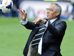 Bleibt in Fulham und soll die Cottagers zurück in die Premier League führen: Felix Magath.