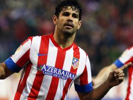 Hasta luego: Diego Costa kehrt Atletico Madrid den Rücken und schließt sich dem FC Chelsea an.