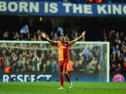 Ist zurück an der alten Wirkungsstätte: Didier Drogba spielt wieder für den FC Chelsea.
